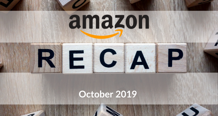 Our Recap Of What Amazon Has been Up To In October