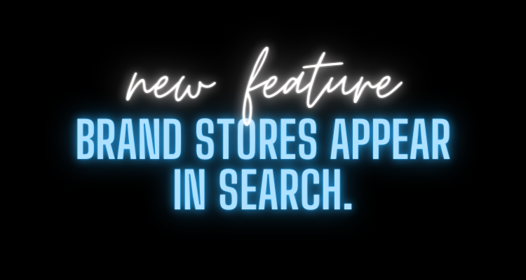 Amazon Brand Stores Appear In Search