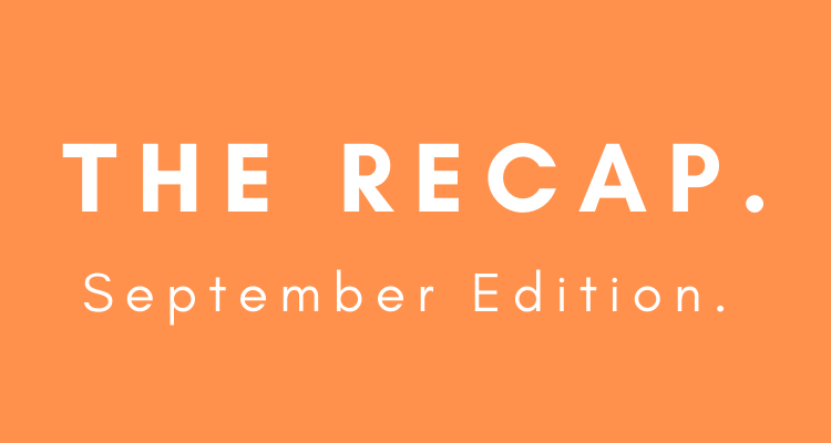 Amazon Recap: September Edition