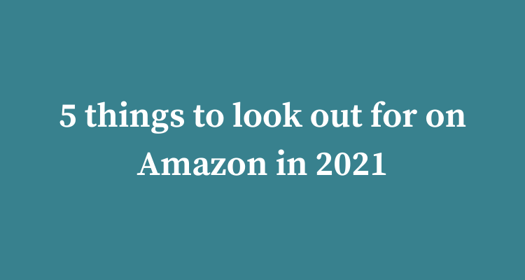 Things To Look Out For – Amazon 2021